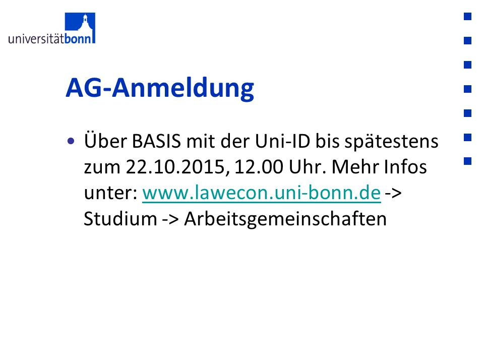 AG-Anmeldung