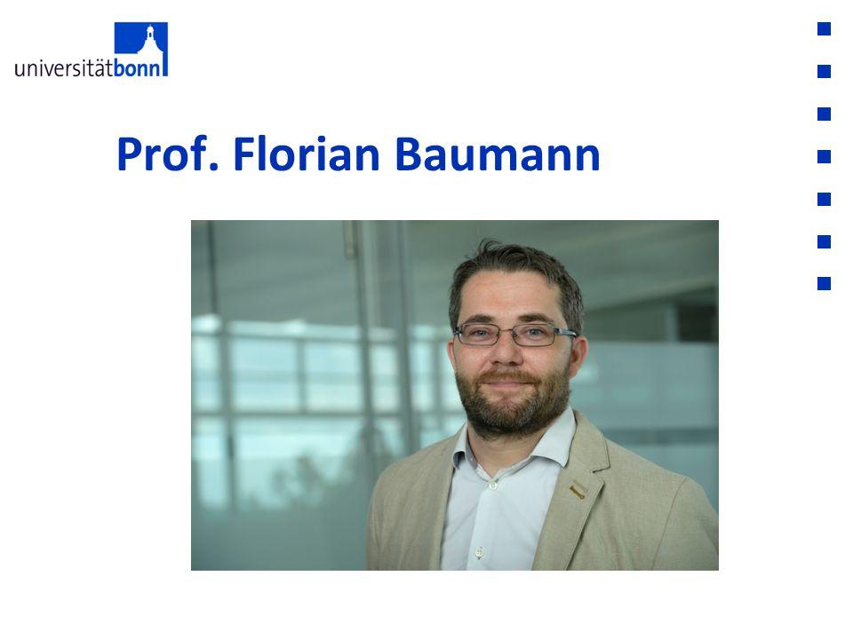 Prof. Florian Baumann
