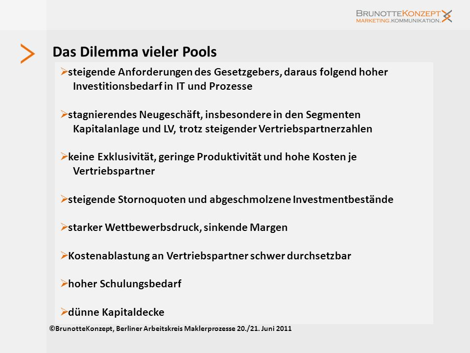 Das Dilemma vieler Pools
