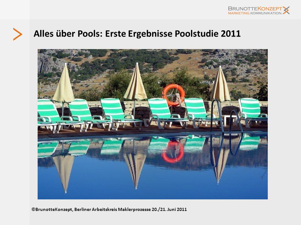 Alles über Pools: Erste Ergebnisse Poolstudie 2011