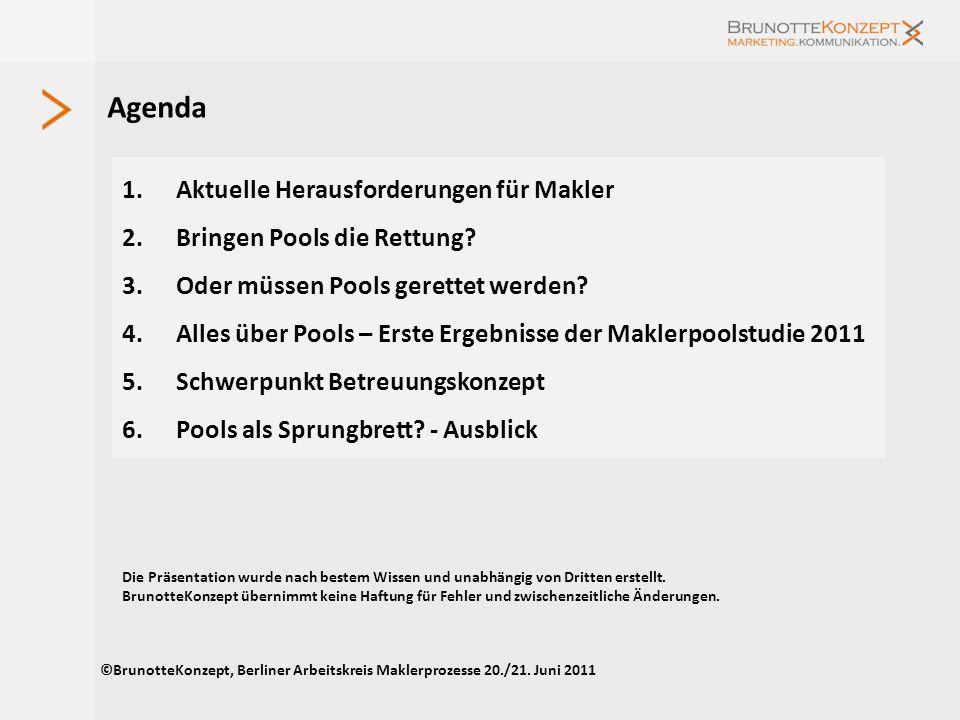 Agenda Aktuelle Herausforderungen für Makler