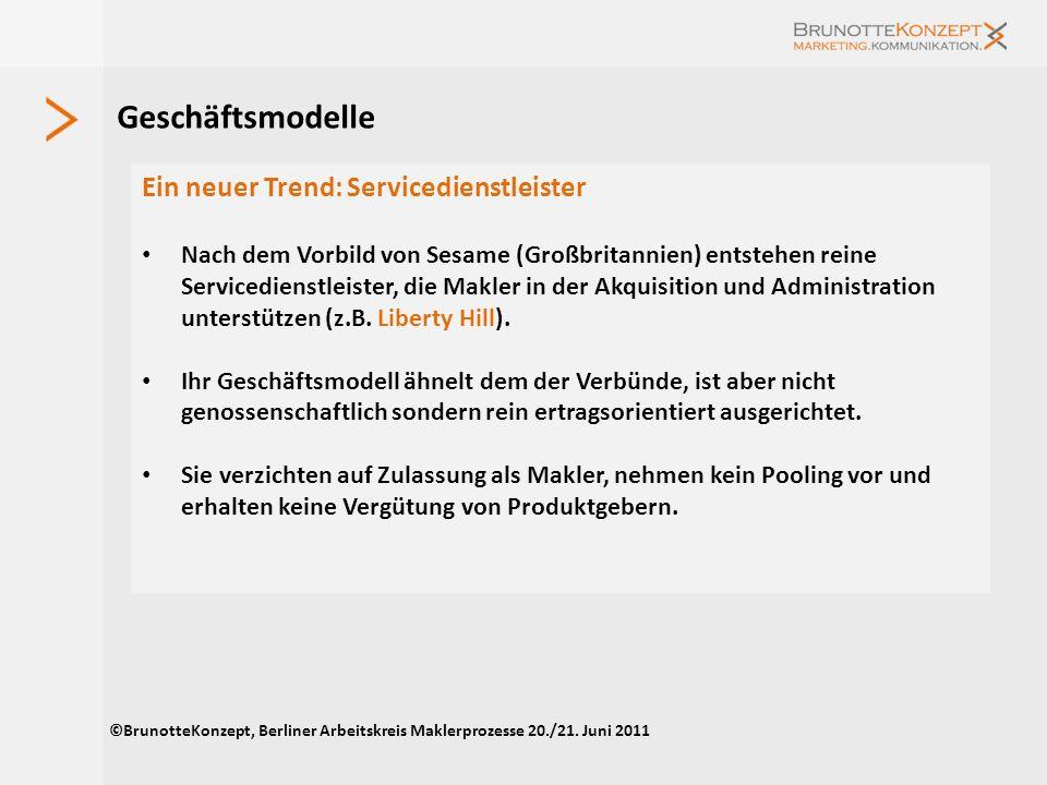 Geschäftsmodelle Ein neuer Trend: Servicedienstleister