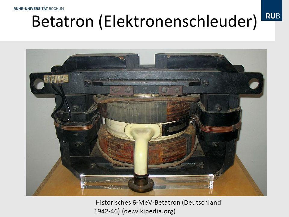 Betatron (Elektronenschleuder)