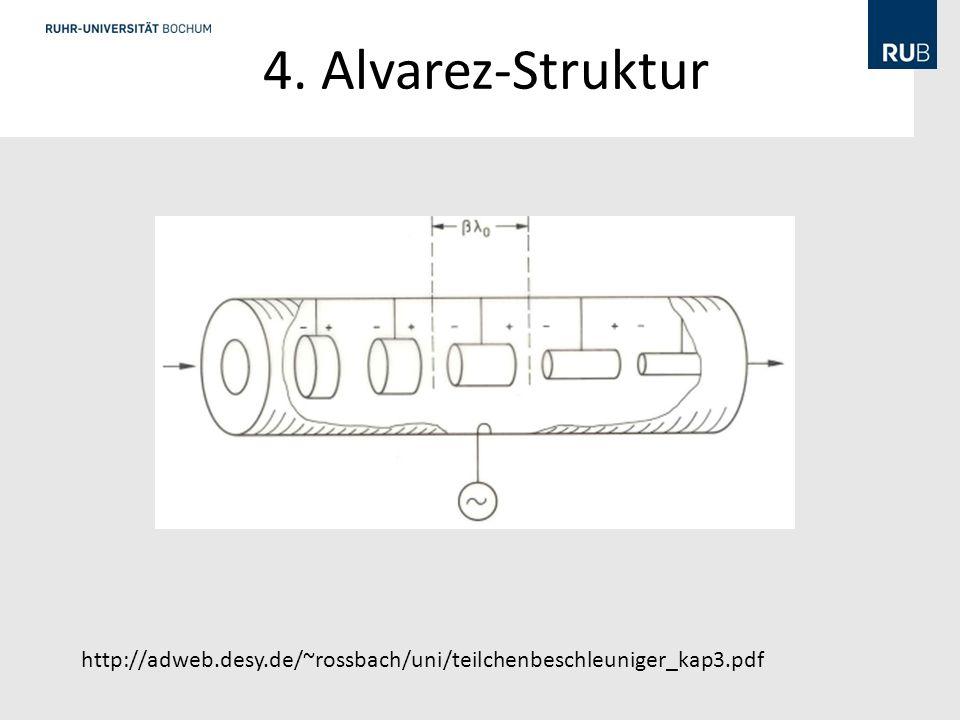 4. Alvarez-Struktur Eine Alvarez-Struktur unterscheidet sich von einer Wiederőe-Struktur dadurch, dass sich alle.