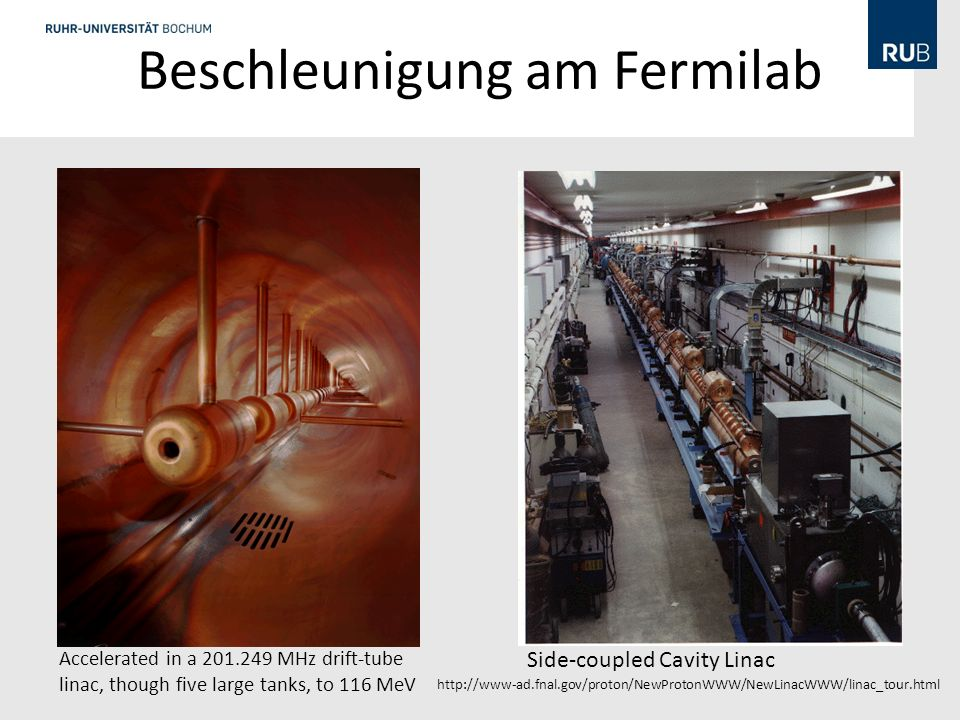 Beschleunigung am Fermilab