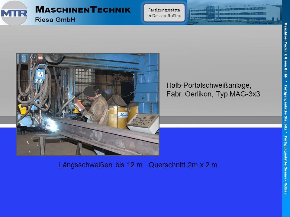 Fertigungsstätte in Dessau-Roßlau