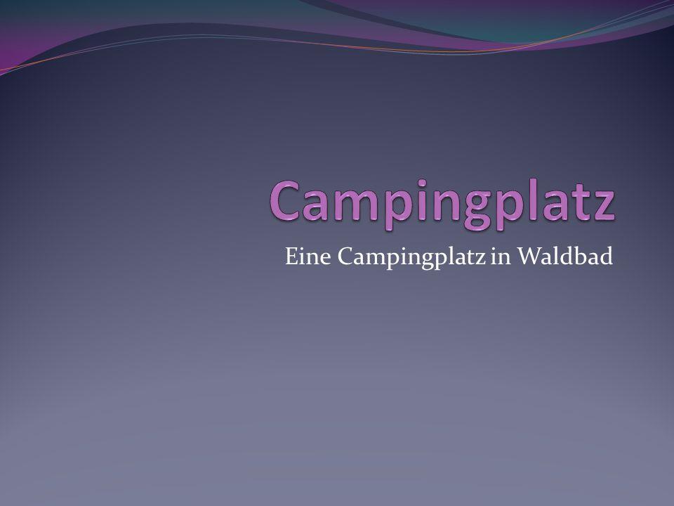Eine Campingplatz in Waldbad