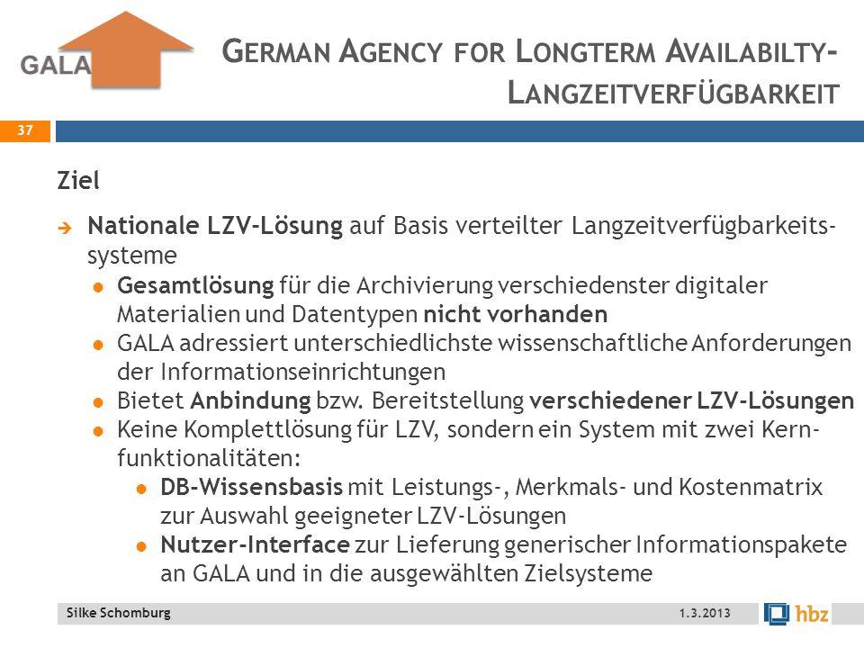 German Agency for Longterm Availabilty- Langzeitverfügbarkeit