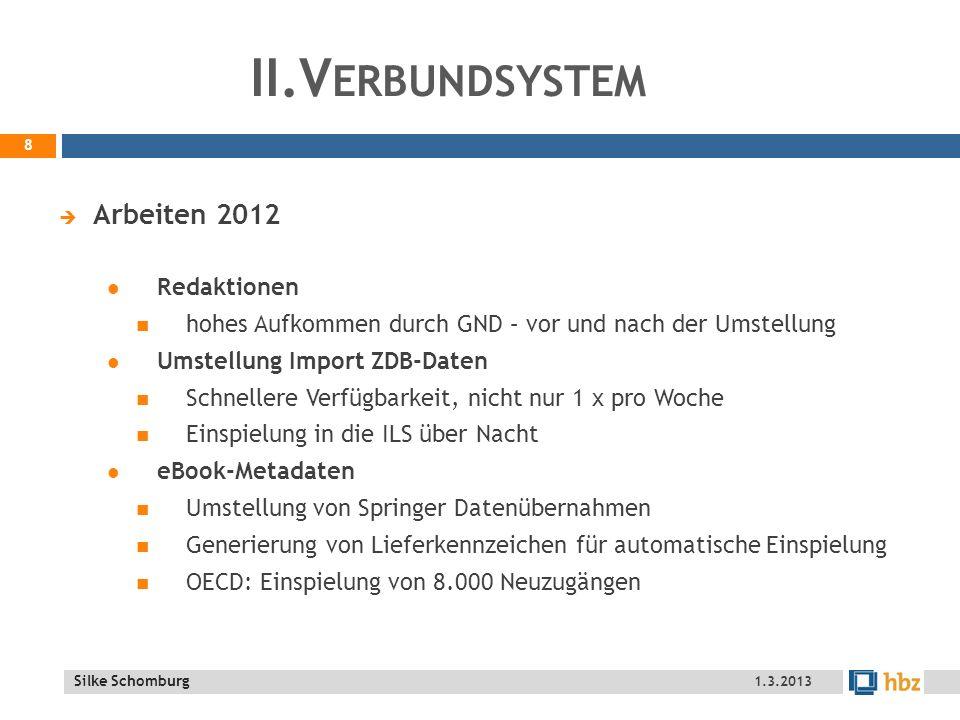 II.Verbundsystem Arbeiten 2012 Redaktionen