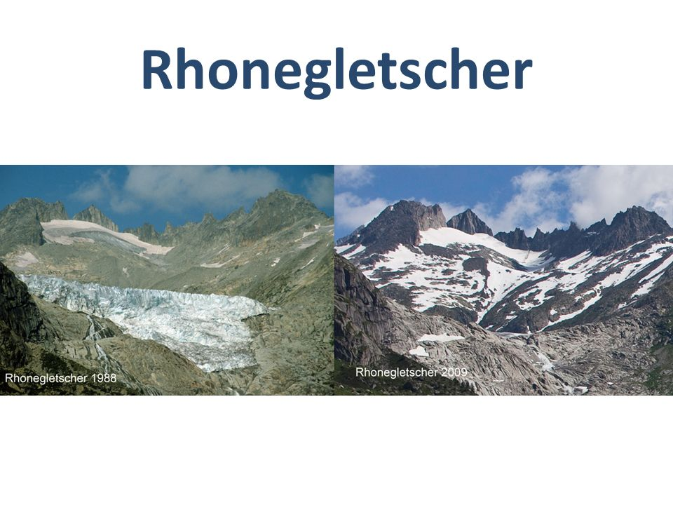 Rhonegletscher Bild oberhalb Gletsch