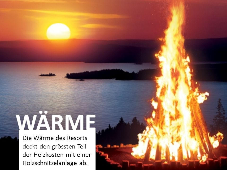 WÄRME Pro Jahr werden 3'700-3'900 m3 einheimische Holzschnitzel verbrannt.