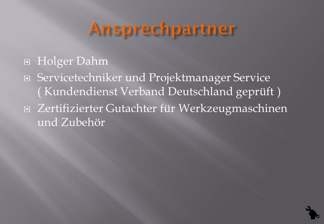 Ansprechpartner Holger Dahm