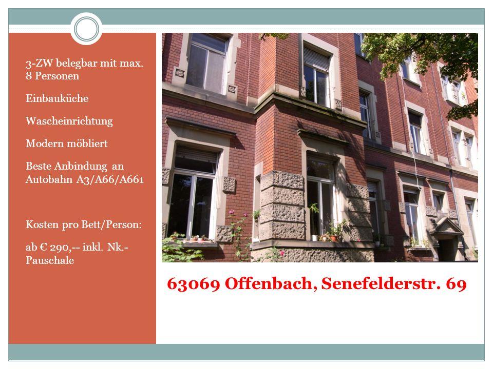 63069 Offenbach, Senefelderstr. 69