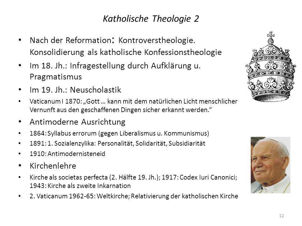 Katholische Theologie 2