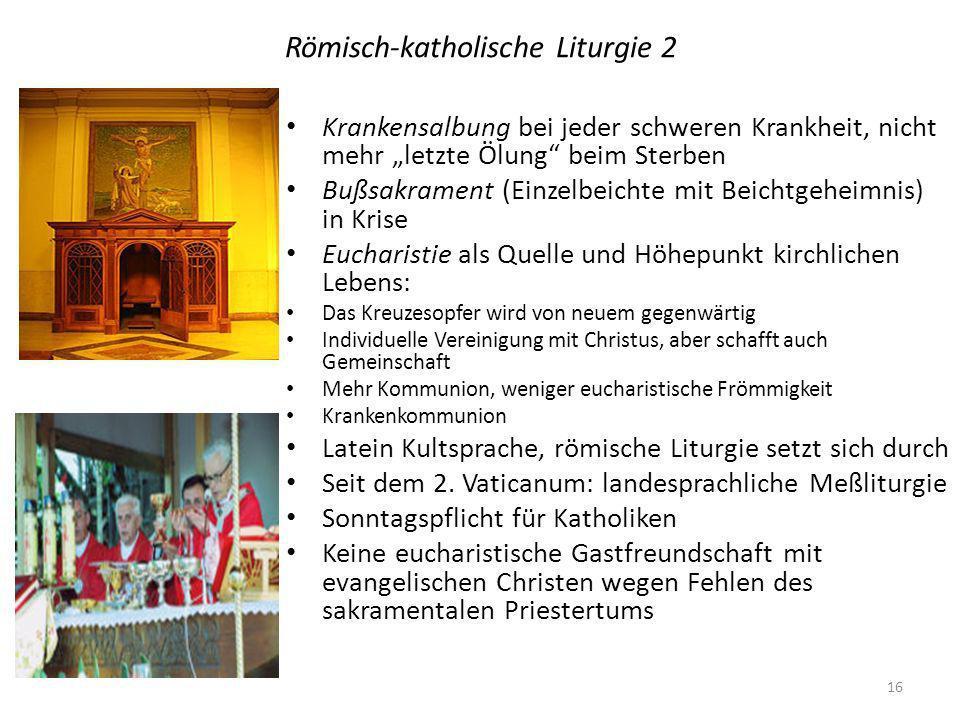 Römisch-katholische Liturgie 2
