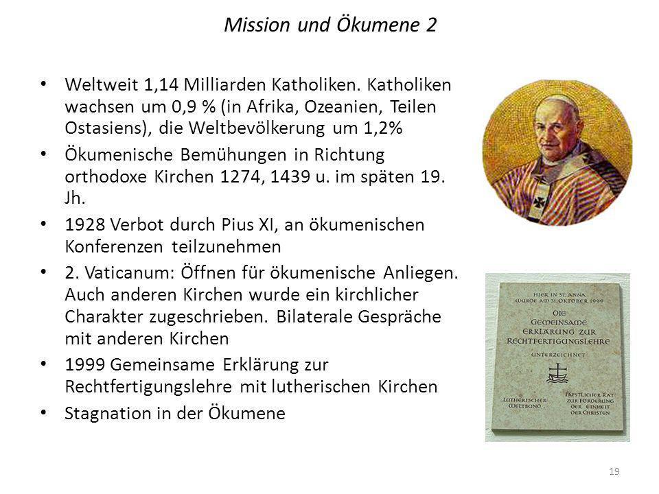Mission und Ökumene 2