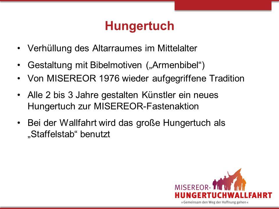 Hungertuch Verhüllung des Altarraumes im Mittelalter