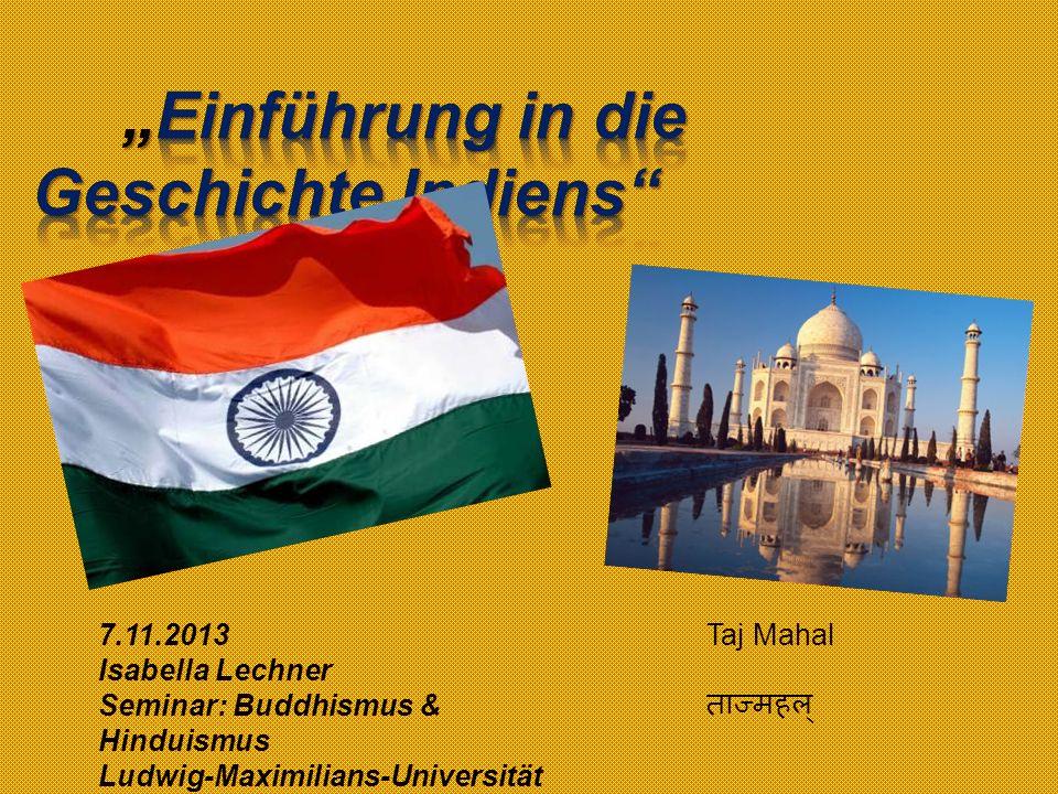 """""""Einführung in die Geschichte Indiens"""