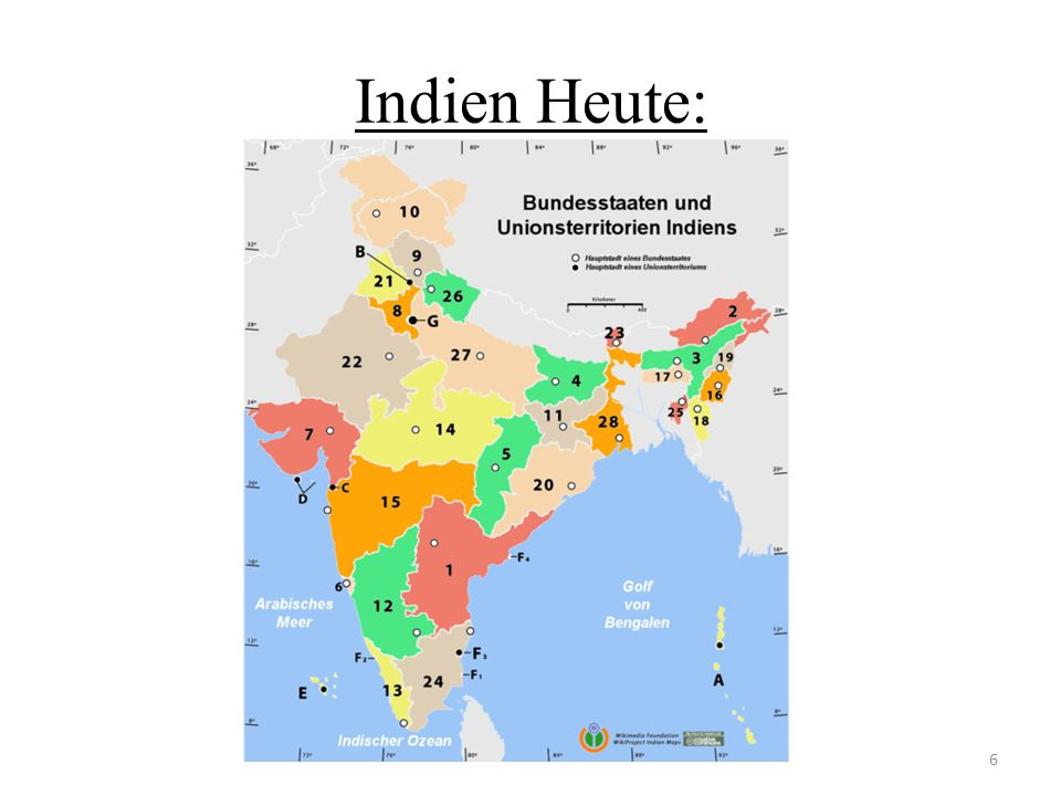 Indien Heute: