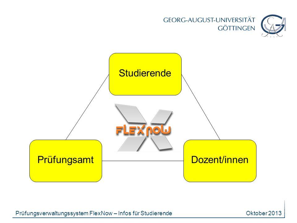 Studierende Prüfungsamt Dozent/innen