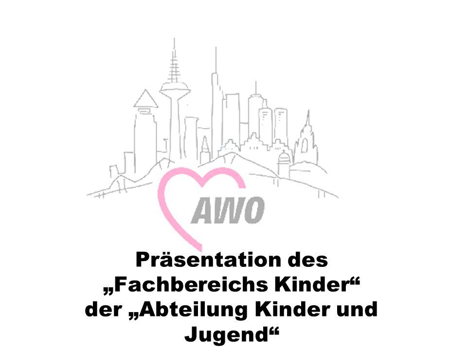 """Präsentation des """"Fachbereichs Kinder der """"Abteilung Kinder und Jugend"""