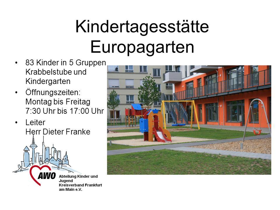 Kindertagesstätte Europagarten