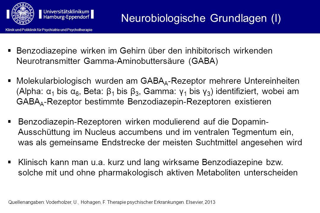 Neurobiologische Grundlagen (I)
