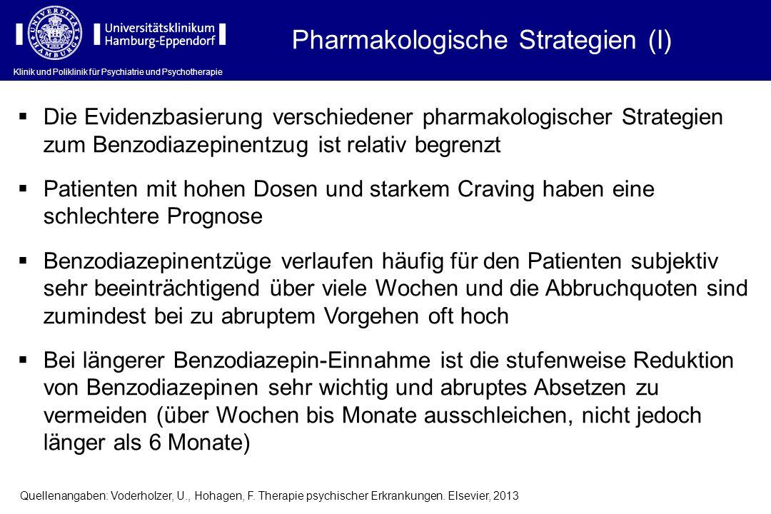 Pharmakologische Strategien (I)