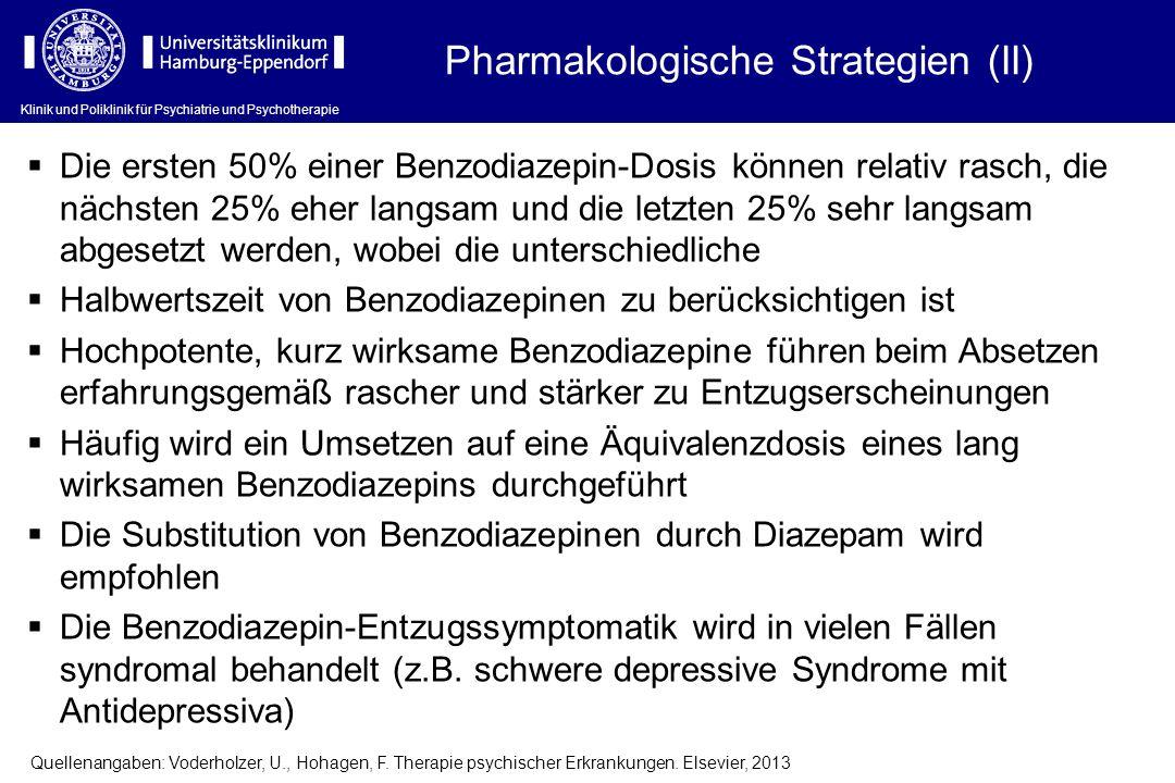 Pharmakologische Strategien (II)