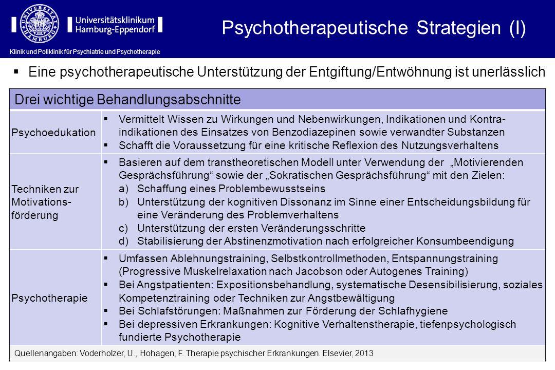 Psychotherapeutische Strategien (I)
