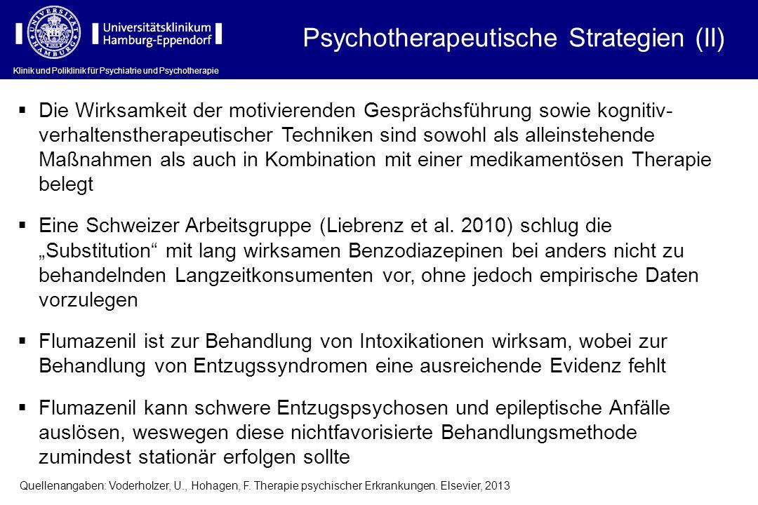 Psychotherapeutische Strategien (II)