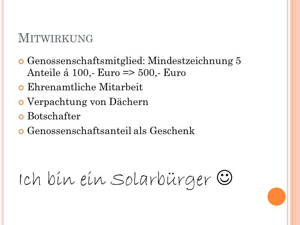 Ich bin ein Solarbürger 