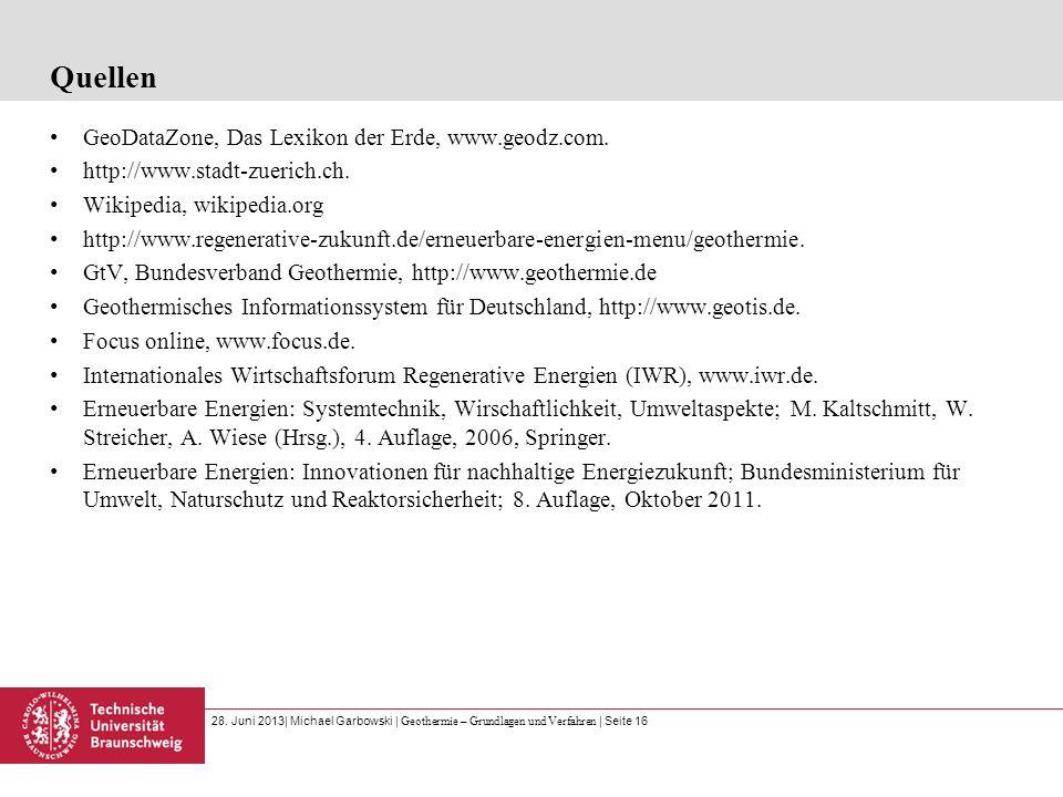 Quellen GeoDataZone, Das Lexikon der Erde, www.geodz.com.