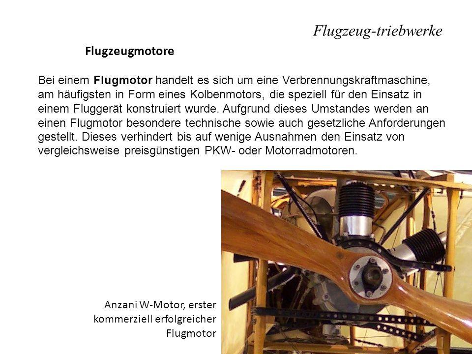 Flugzeug-triebwerke Flugzeugmotore