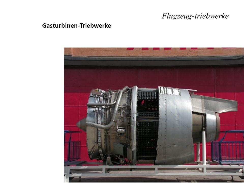 Flugzeug-triebwerke Gasturbinen-Triebwerke