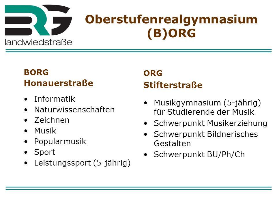 Oberstufenrealgymnasium (B)ORG