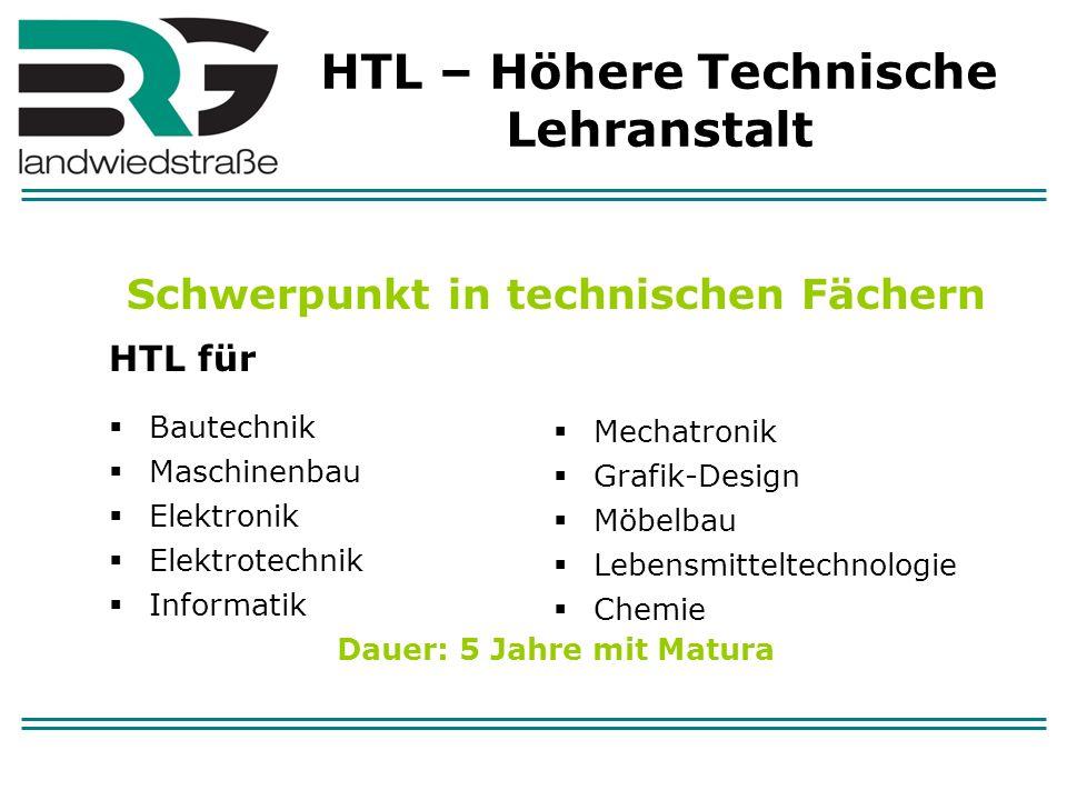HTL – Höhere Technische Lehranstalt