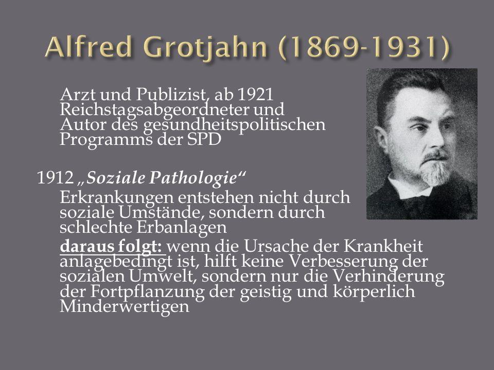Alfred Grotjahn (1869-1931)