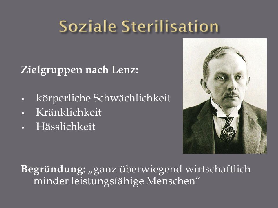 Soziale Sterilisation