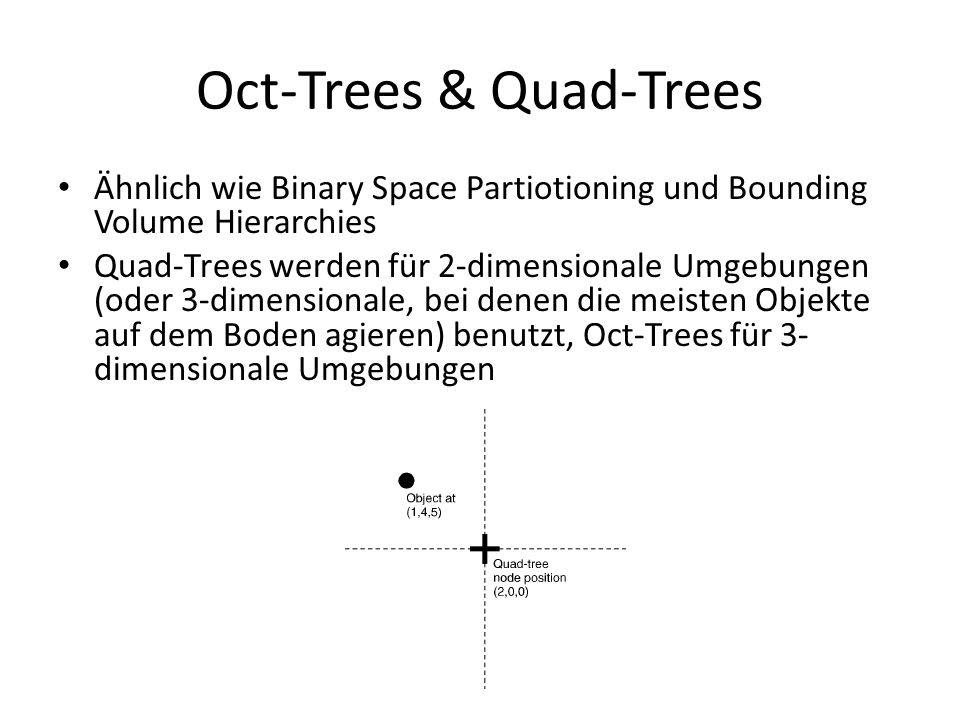 Oct-Trees & Quad-Trees