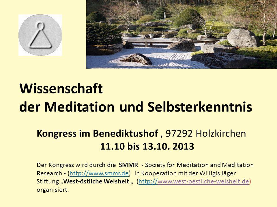der Meditation und Selbsterkenntnis