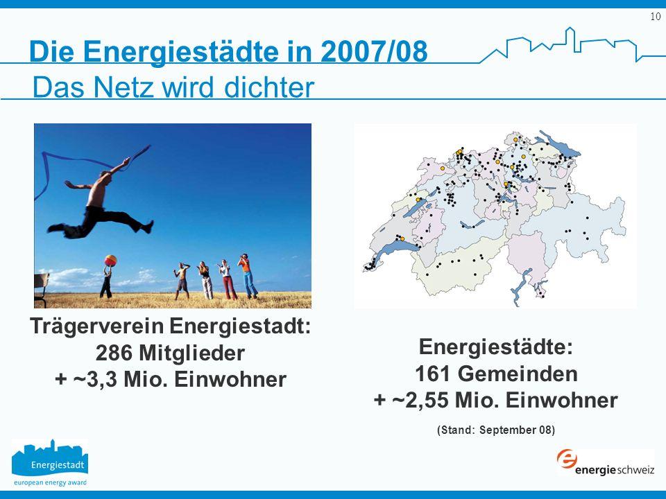 Trägerverein Energiestadt: