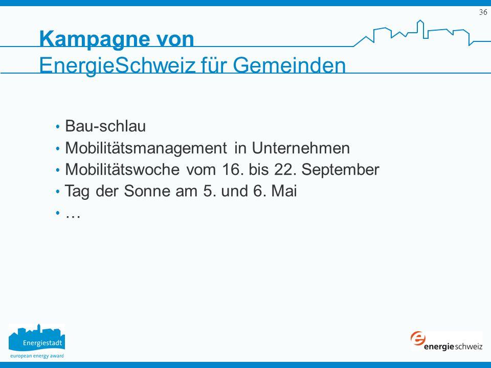 EnergieSchweiz für Gemeinden