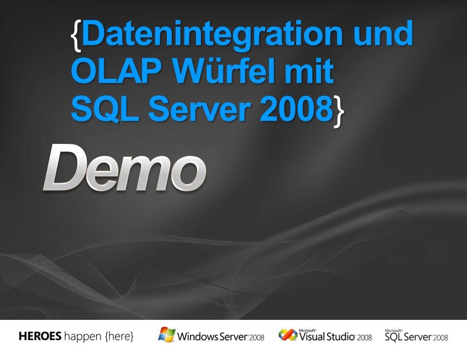 {Datenintegration und OLAP Würfel mit SQL Server 2008}