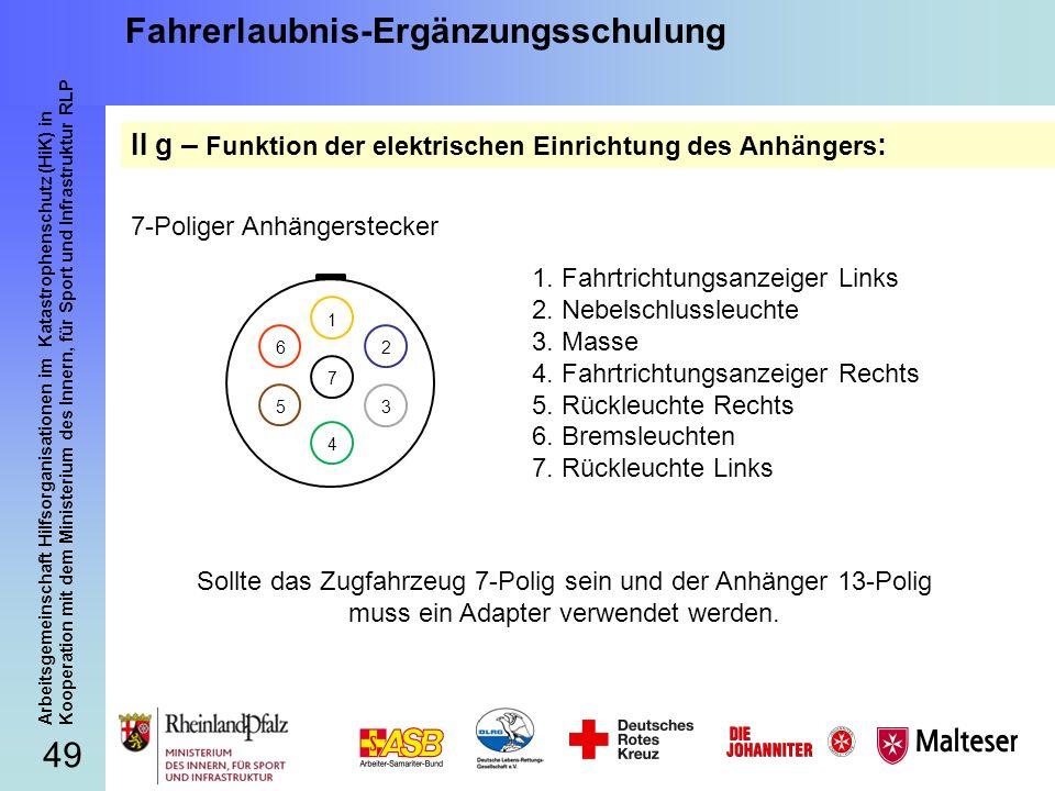 Fantastisch 8 Poliger Anhängerstecker Galerie - Der Schaltplan ...