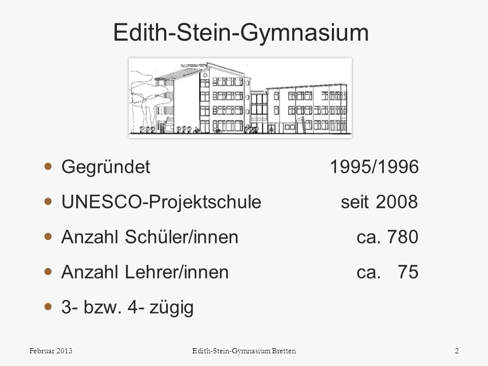 Edith-Stein-Gymnasium
