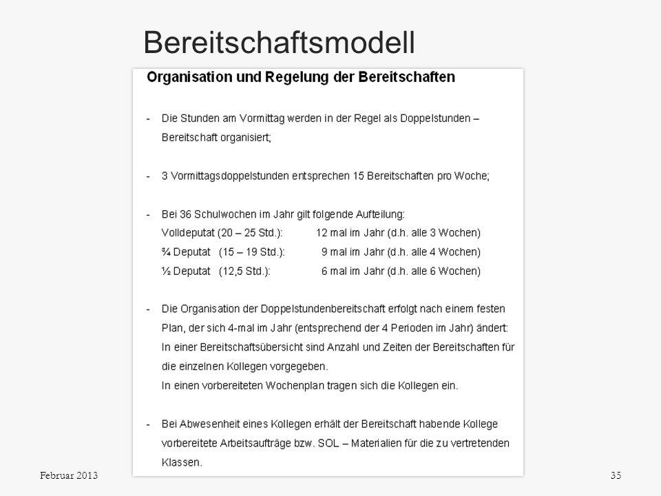 Bereitschaftsmodell Organisation und Regelung der Bereitschaften seit September 2006 Pro und Contra, auch aus der Sicht des Personalrats: