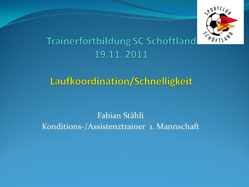 Fabian Stähli Konditions-/Assistenztrainer 1. Mannschaft