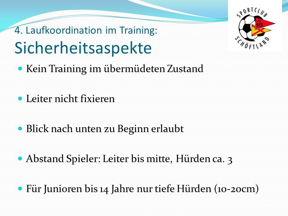 4. Laufkoordination im Training: Sicherheitsaspekte