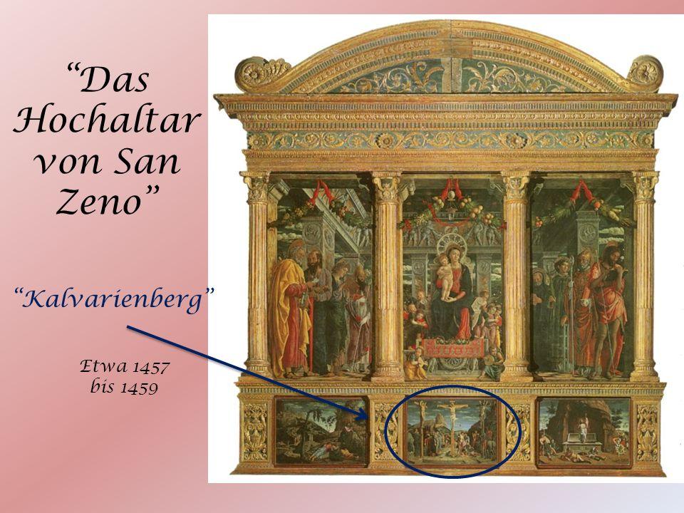 Das Hochaltar von San Zeno